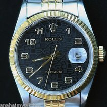Rolex Datejust Two Tone 18k Gold Stainless Steel 36mm Model...