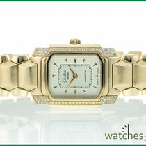 Glashütte Original Lady Karree 88 Dia pink Gold handwinder