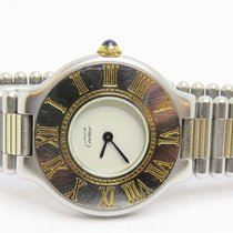 Cartier Must de Cartier 21 Stainless Steel and Gold Ladies...