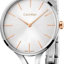 ck Calvin Klein GRAPHIC K7E23B46 Damenarmbanduhr Klassisch...