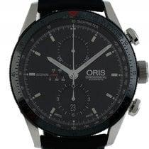 Oris Artix GT Stahl Automatik Chronograph Armband Leder 44mm