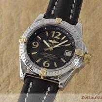 Breitling Callisto Chronometer Stahl / Gold Lady Damenuhr B77346