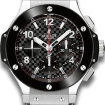 Hublot Big Bang Steel 301.SB.131.RX Carbon Fibre Dial Ceramic...
