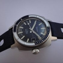Anonymous Vintage Diver Swiss Automatic Watch 60's