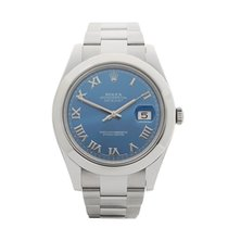 Rolex Datejust II Stainless Steel Gents 116300 - W3721