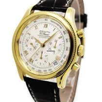 Zenith 18K Gold Chronograph 06-0210-400 Automatic