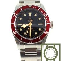 Τούντορ (Tudor) heritage black bay red bezel full steel NEW