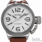 TW Steel Canteen 45mm White Dial Stainless Steel Men's...