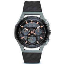 Bulova Men's 98A162 Curv Chronograph Watch
