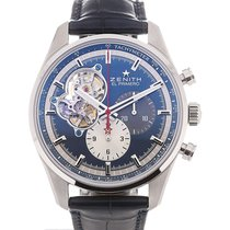 Zenith El Primero Chronomaster 42 Chronograph Blue Dial