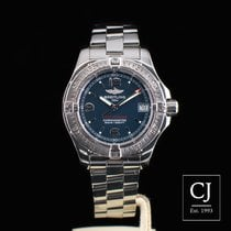 Breitling Colt Oceane 33.2mm Ladies Size Stainless Steel Blue...