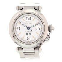 Cartier Men's/ Pasha de Cartier Automatic 2475 Stainless...