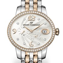 Girard Perregaux CAT'S EYE POWER RESERVE Steel/Pink Gold...