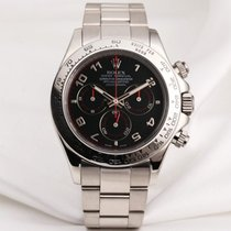 Rolex Cosmograph Daytona 116509 Black Dial 18k White Gold