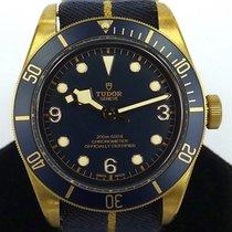 튜더 (Tudor) Heritage Black Bay Bronze Bucherer Blue Ref...