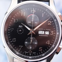 Hamilton Men's Jazzmaster Maestro Chronograph 45mm Steel...