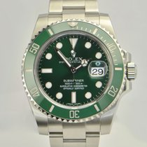 Rolex Submariner Steel Green ceramic Green Dial116610LV