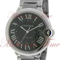 Cartier Ballon Bleu 42mm Automatic, Black Dial - Stainless...