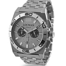 Locman Stealth 021200AK-AGKBR0 Quarz Chronograph Men's Watch