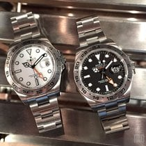 勞力士 (Rolex) 216570 Black / White Dial (888) Explorer II 42mm