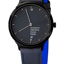 Mondaine UNISEX  Quartz 38mm Helvetica No 1 New York Ed....