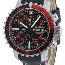 Fortis Aquatis Marinemaster Chronograph Red 671.23.43 L.01