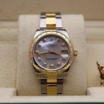 Rolex 178343  Datejust Yellow Gold & Steel (Diamond on the...