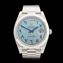 Rolex Day-Date Arabic Dial Platinum Gents 228206 - COM911