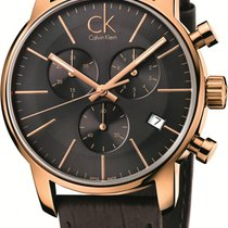 ck Calvin Klein City Chrono K2G276G3 Herrenchronograph Swiss Made