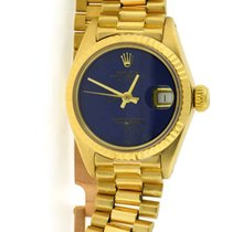 Rolex Datejust President Blue Lapis Dial 18K Yellow Gold