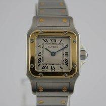 カルティエ (Cartier) Santos Galbee Gold / Stahl #K2860 Box, Papiere