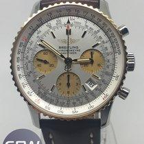 Breitling Navitimer Chronograph Gold Bezel