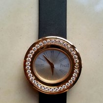 Piaget POSSESSION WATCH SATIN STRAP 18K RED GOLD DIAMOND SET