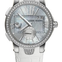 Ulysse Nardin EXECUTIVE DUAL TIME LADY Mother-of-pearl Bezel...