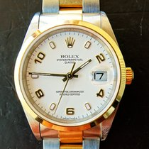 Rolex Oyster Date 34 mm Steel/Gold 18K 750 Automatic Chronometer
