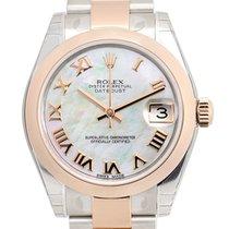 勞力士 (Rolex) Lady Datejust Rose Gold Silver Automatic 178241WTNR_O