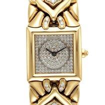 Bulgari Lady's Yellow Gold Diamond Trika