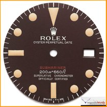 Rolex Dial Red Submariner Ref 1680 Dark Brown Dial Mark 1