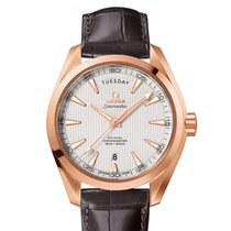 Omega AQUA TERRA 150 M OMEGA CO-AXIAL DAY-DATE RED GOLD 18K