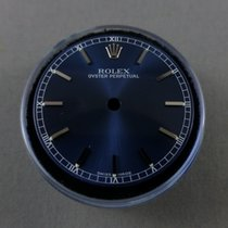 Rolex Blue dial non date silver index Medium size