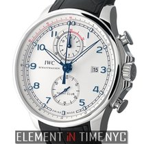 IWC Portuguese Collection Yacht Club Ocean Racer Steel 45mm...
