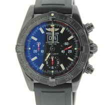 Breitling Blackbird Chronograph Black Stainless Steel
