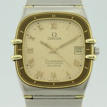 Omega Constellation Chronometer Quartz Steel and 18K Gold 1431