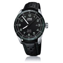 Oris Men's 735 7706 4494-SET LS Calobra Drive Time Watch