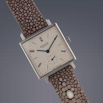 ノモス (Nomos) Pre-owned  Tetra Large steel manual watch
