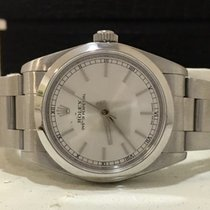 Rolex Oyster Perpetual Midsize Silve Dial