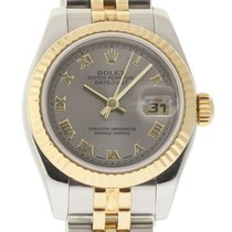 Rolex Datejust 179173 26mm Steel Gold Silver Roman 2004...