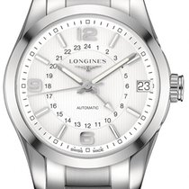 Longines Conquest Classic Automatic GMT 42mm L2.799.4.76.6