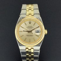 Rolex Datejust 36mm Automatic 1630 Vintage Rare Two Tone 18k...