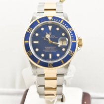 Rolex Submariner Date 16613 Blue Face Box & Papers  1999...